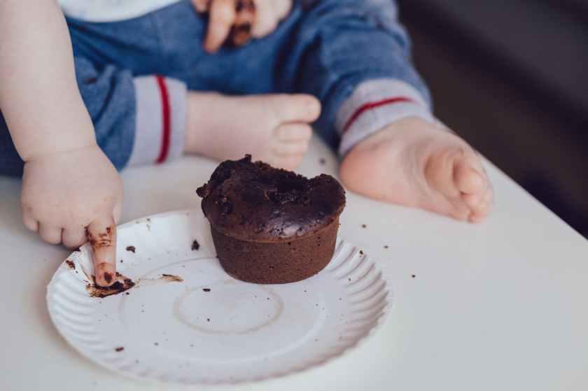 baby blur child chocolate